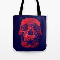 Sacred Skull Tote Bag