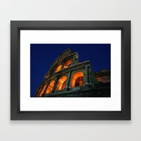 When In Rome Framed Art Print