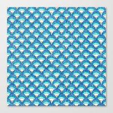 fish scales Canvas Print