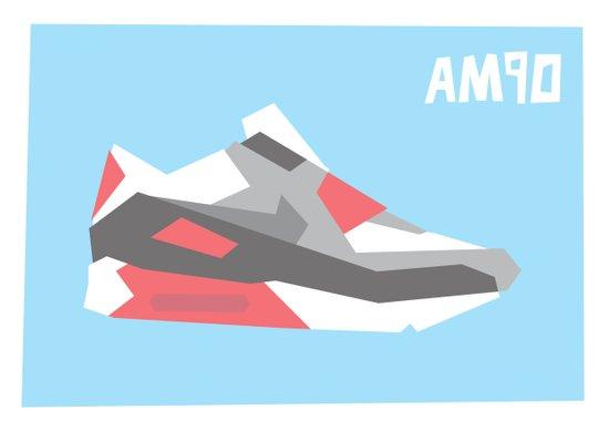 Air Max 90 Art Print