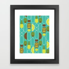 Tiki Weekend Framed Art Print