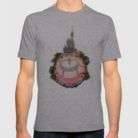 Cinderella Castle in the #DisneyGalaxy Mens Fitted Tee Athletic Grey SMALL