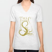 This Trend Shall Pass Unisex V-Neck