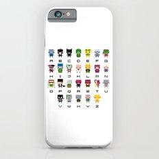 Pixel Supervillain Alphabet 2 iPhone 6s Slim Case