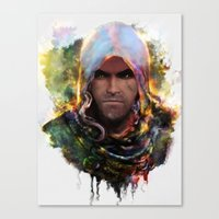 Witchers Creed Canvas Print