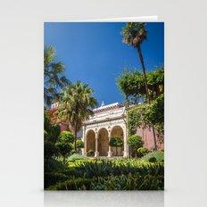 Sevilla - pilate's palace Stationery Cards