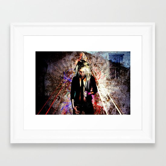 Aura of a Magic Creation Framed Art Print