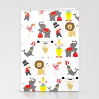 circus Stationery Cards featuring Circus by Lydia Meiying