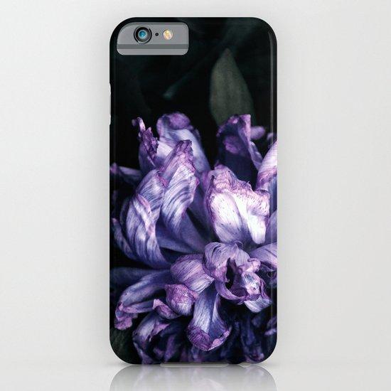the purple lady iPhone & iPod Case