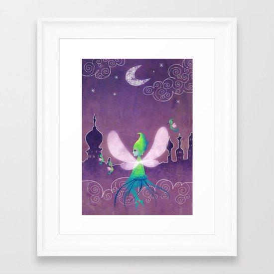 Toothiana Framed Art Print