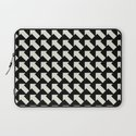 White Arrows Laptop Sleeve