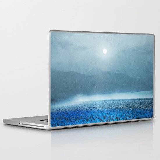 magical Tulips Laptop & iPad Skin