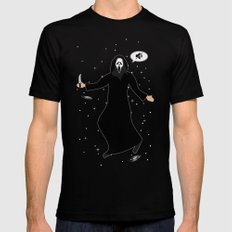 In space no one can hear you, scream Mens Fitted Tee SMALL Black