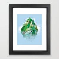 Mysterious Island Framed Art Print