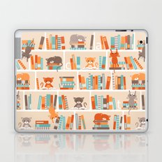Library cats Laptop & iPad Skin