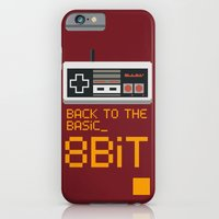 iPhone & iPod Case featuring back to the basic_  by parisian samurai studio