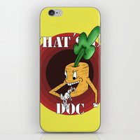 What's Up Doc iPhone & iPod Skin