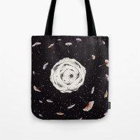 Space Dandelion Tote Bag