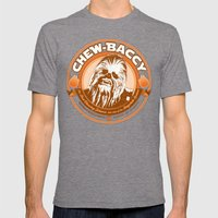Chew-Baccy (Wookie Chewing Tobacco) Mens Fitted Tee Tri-Grey SMALL