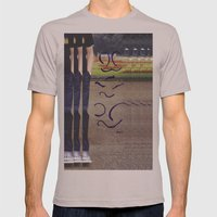 Tree In The Park Mens Fitted Tee Cinder SMALL