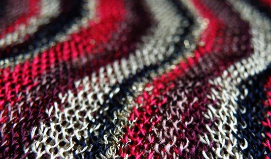 Scarf Closeup #1 Art Print