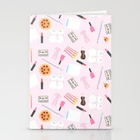 Slumber Party Stationery Cards