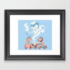 CrashBoomBang Framed Art Print