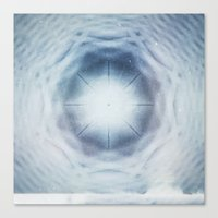 Canvas Print featuring Crystalline Compass by Piccolo Takes All