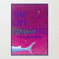 The Life Aquatic Canvas Print
