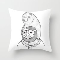 On How Baby Bears Are Of… Throw Pillow