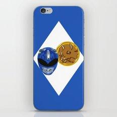 Blue Ranger iPhone & iPod Skin