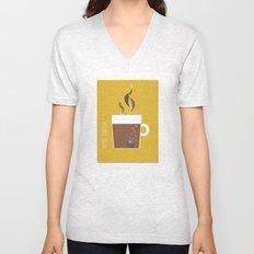 70s Coffee Unisex V-Neck