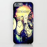 iPhone & iPod Case featuring Seize the Moment by Eleigh Koonce