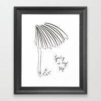 Spring In My Step Framed Art Print