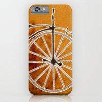bike iPhone & iPod Cases featuring Bike by CrismanArt