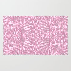 Ab Lace Pink Rug