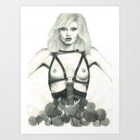 Abbey Lee Art Print