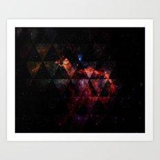 Galactic Cocktail Art Print