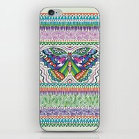Tribal Butterfly iPhone & iPod Skin