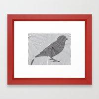 Put a Broken Bird On It! Framed Art Print