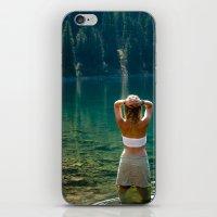 Le Lady Lake iPhone & iPod Skin