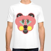 Grizzly Bear Necessities Mens Fitted Tee White SMALL