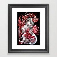 Pregnancy Of Heart Framed Art Print