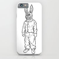 iPhone & iPod Case featuring Rotten rabbit by Guapo