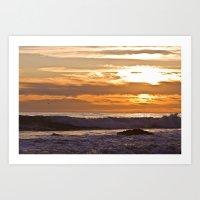 El Matador Sunset, 2011 Art Print