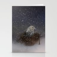 Keeping Warm In My Nest Stationery Cards