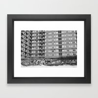 Brussels Looking Like Ea… Framed Art Print
