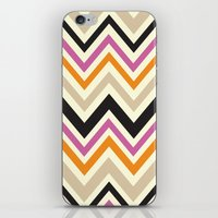August Chevron iPhone & iPod Skin