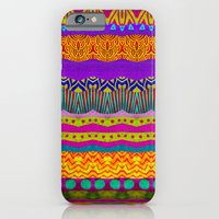 iPhone Cases featuring Earth Layers by Pom Graphic Design