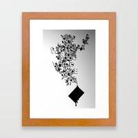 Wish You Were Here Framed Art Print